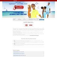 Promotional landing page sample